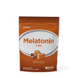 GNC MELATONIN 3 MG - CHOCOLATE CHIP COOKIE DOUGH